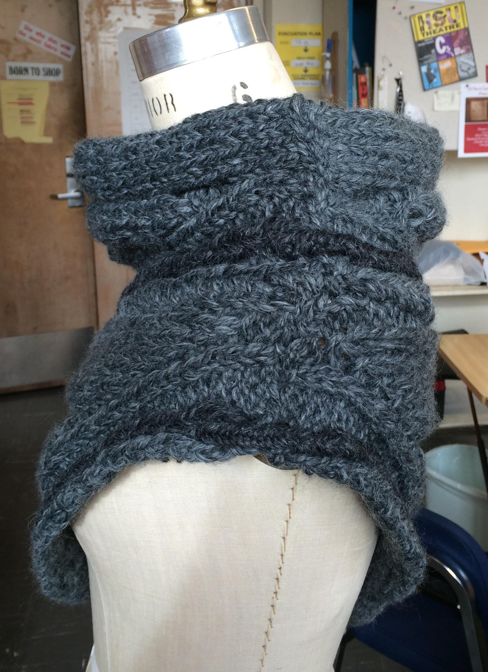 Panem Katniss Cowl Wrap Teaching Your Brain To Knit