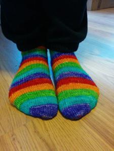 rainbows on feet 2