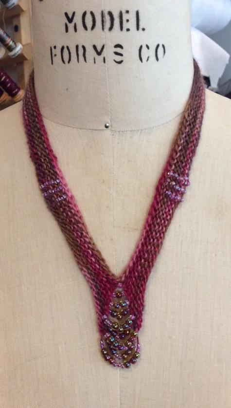 Catherine's butin collar