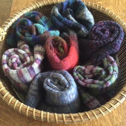 basket of darned socks