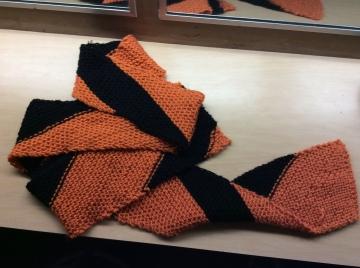 C tiger scarf