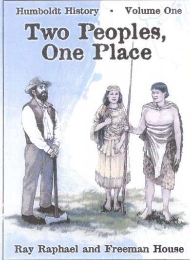 Book Cover Two Peoples, One Place by Ray Raphael and Freeman House
