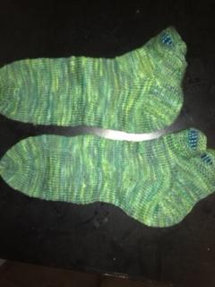 Nugget Sock by Laura Nelkin